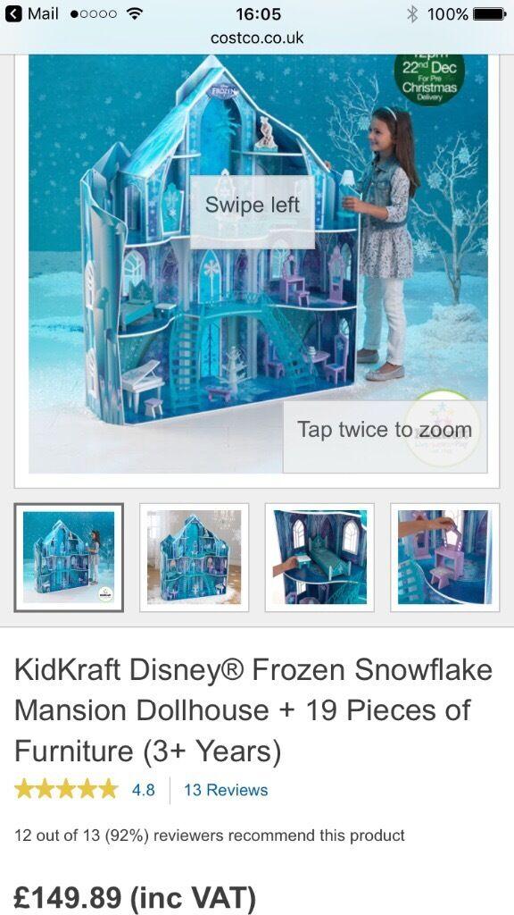 Child's frozen castle