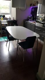 Ikea dining table - white