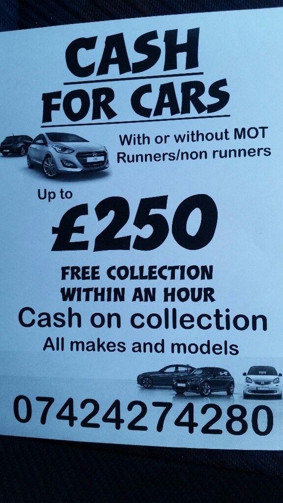 Cars wanted/scrap cars/Mot failure/scrap yard/car breakers ...