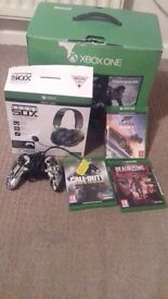 xbox one bundle 220 for the lot or 180 for just the console