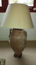 Large corner lamp