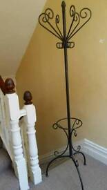 Coat stand - wrought iron