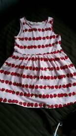 BNWOT - Girls H&M dresses, size 1.5-2yrs