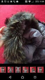 Ladies down coat size L
