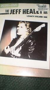 Jeff Healey DVD and Cd's in wrapper