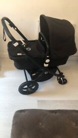 All black bugaboo cameleon 3