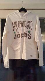 Cream hoodie size 12