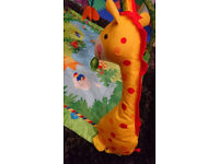 Fisher Price Rain forest play/gym mat. Very good condition