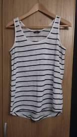 F&F stripey vest top