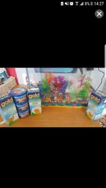 24L fish tank and accessories