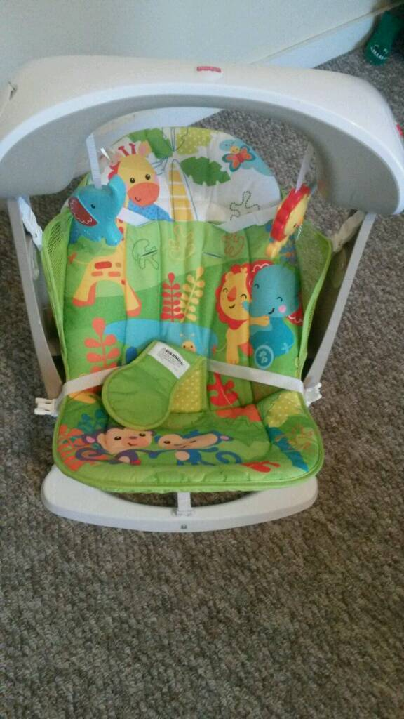 Fisher price baby swing for sale vgc