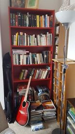 Red Billy Bookcase Ikea