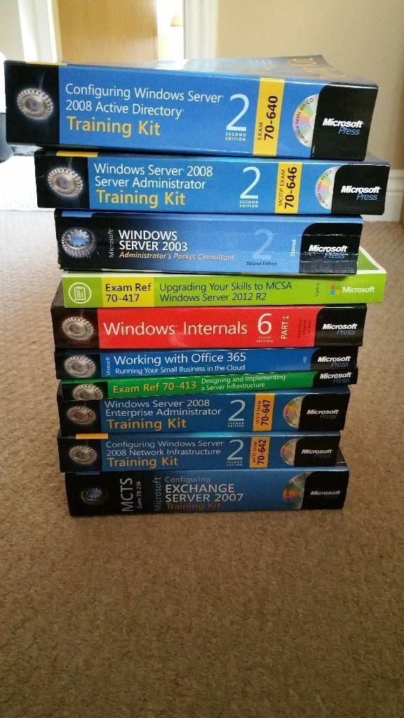 Microsoft Certification Training Books Selection In Henbury
