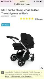 Ickle bubba v2 travel system