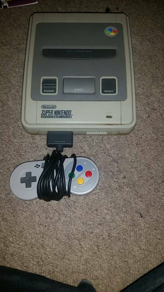 Snes console full working orderin Southampton, HampshireGumtree - Im selling a snes console in full working order comes with everything needed to play