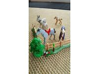 Lovely Play Mobil horse and pony set