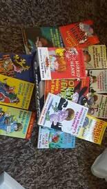 13 x Horrid Henry books