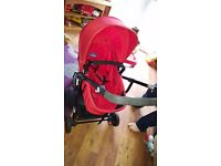 Babystart parent and world facing pram