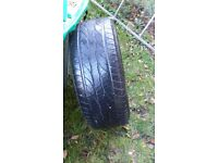Alloys with tyres for Mercedes ml 270