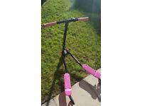 Kids zip scooter