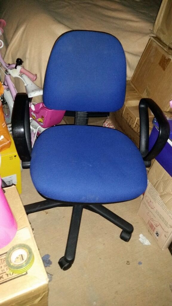 Office Chair - Blue in colour