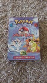 Original Water Blast pokemon deck
