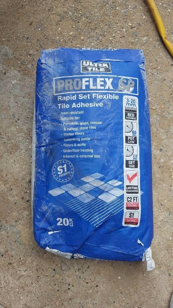 0dc27df6ec3 Ultra Tile 20kg Pro-Flex SP Grey Flexible Tile Adhesive