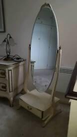 Dressing mirror full length.