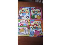 "SET OF 4 CHILDREN'S BOOKS ""HOW TO WRITE"""
