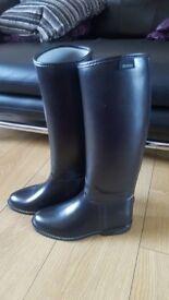 Girls Dublin Horse riding boots size 5, 38