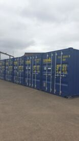GLASGOW WEST END - SECURE STORAGE CONTAINER