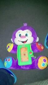 Fisher price monkey toy