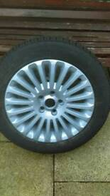 Ford titanium alloy wheel