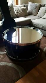 Bass drum coffee table