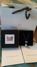 Trollbeads Mythic Pearl Necklace Brand new
