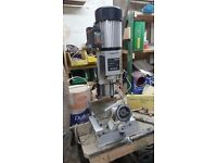 Bench Morticer with sliding table