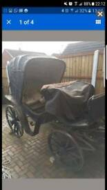French Victoria Carriage C 1850's for Restoration
