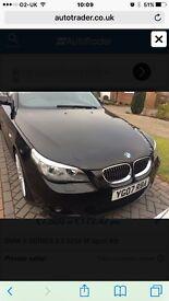 BMW 525 d M sport black for sale. Great car.