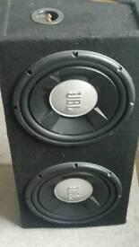 Fli amp 400w + 2 x jbl sub 1k w each
