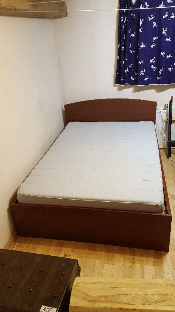 Ikea Ramberg Double Bed Frame And Mattress