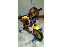 Fireman Sam Toddler Bike - brand new