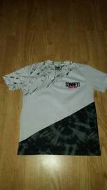 White and Black Sonetti T-Shirt