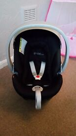 Cybex aton car seat and adapters
