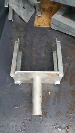 1 FORK U HEAD FORMWORK,HEAVY DUTY, for ACROW PROPS, ACRO JACK LONDON or MANCHESTER