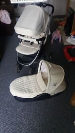 Billie faires my babiie pram with carry cot