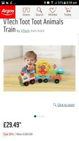 Vtech toot toot animals train
