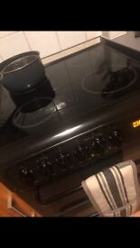 Hotpoint black electric fan oven