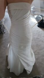 size 8 pronovias ocelo wedding dress