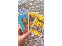 Tarot card readings. Experience and insightful reader, great rates x