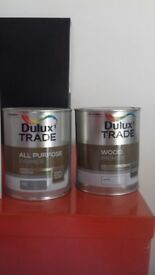 Dulux Trade All Purpose Primer and Wood Primer - 1l tins
